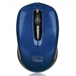ADESSO myš iMouse S50L Mini, bezdrátová, optická, modrá