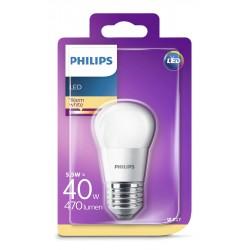 PHILIPS LED žárovka iluminační P45 230V 5,5W E27 noDIM Matná 470lm...
