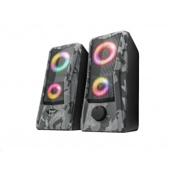 TRUST reproduktory GXT 606 Javv RGB-Illuminated 2.0 Speaker Set 23379