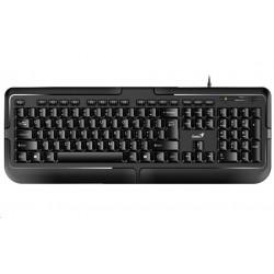 GENIUS klávesnice KB-118/ Drátová/ USB/ černá/ CZ+SK layout 31300010403
