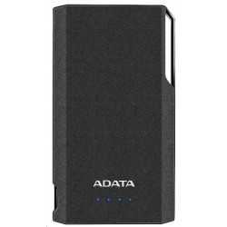 ADATA PowerBank S10000 - externí baterie pro mobil/tablet 10000mAh, černá AS10000-USBA-CBK