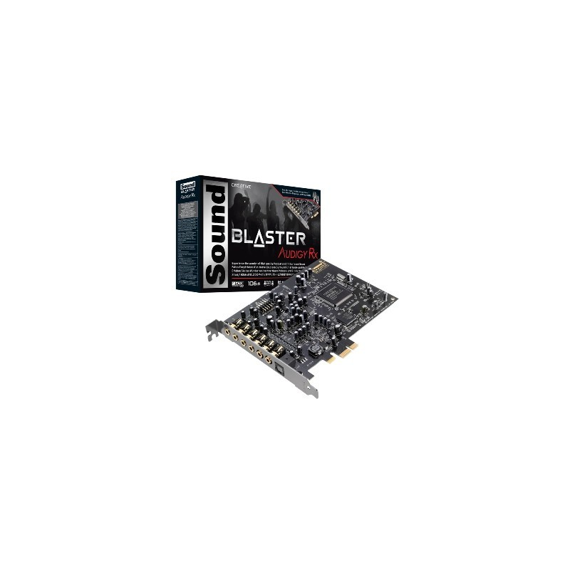 Creative - Sound Blaster Audigy RX PCI-Express 70SB155000001