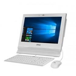 MSI AIO AP1622ET-037XEU White 15,6 HD LED dotyk./intel 1037U(1,8GHz)/NM70/4GB/500GB HDD/ HDD caddy/LPT/ComPort/No OS