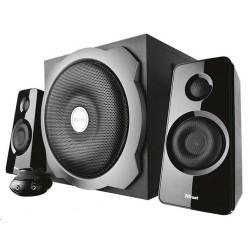 TRUST Reproduktory 2.1 Tytan Subwoofer Speaker Set -  black, černá...