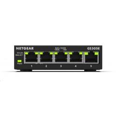 Netgear GS305E 5-port Gigabit Plus Switch, smart managed GS305E-100PES
