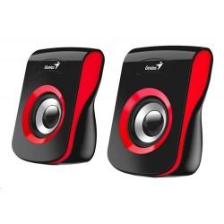 "GENIUS repro SP-Q180 Red, 2.0, 6W, USB napájení, 3,5"" jack,..."