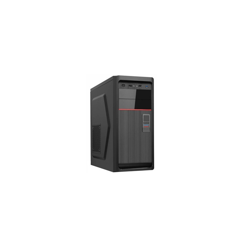 PC skrinka EUROCASE ML X611 ATX 2+1xUSB 2xAudio bez zdroja MLX611B00