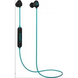 LAMAX Tips1 špuntová sluchátka - tyrkysové TIPS1T