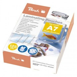 Peach Laminating Pouch A7 (111x154mm), 125mic PP525-05