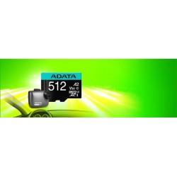 64 GB . Premier Pro micro SDXC/SDHC UHS-I U3 95MB/s karta ADATA...