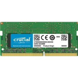 8GB DDR4 3200 MT/s (PC4-25600) CL22 DR x16 Crucial Unbuffered SODIMM 260pin CT8G4SFS832A
