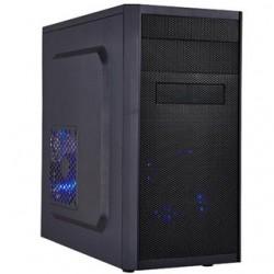 PC skrinka EUROCASE X203 microtower, bez zdroja, čierna, USB3 MCX203B00-EVO