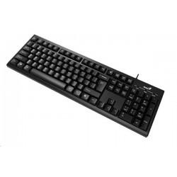 Genius KB-100 klávesnica. SK/CZ. Čierna USB Smart KB-100