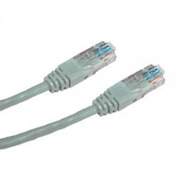 OEM patch kábel Cat5E, UTP - 0,25m , šedý PKOEM-UTP5E-0025-GR