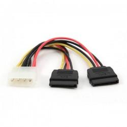 """Gembird kábel Serial ATA Y- napájací, 1 x 5 1/4"""" na 2 x SATA, 30cm CC-SATA-PSY-0.3M"""