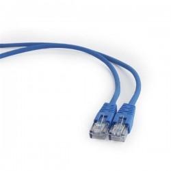 Gembird patch kábel CAT5e, UTP, 0,5 m, modrý PP12-0.5M/B