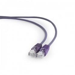 Gembird patch kábel CAT5e, UTP, 1 m, fialový PP12-1M/V