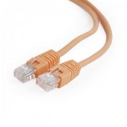 Gembird patch kábel CAT5e, UTP, 0.25 m, oranžový PP12-0.25M/O