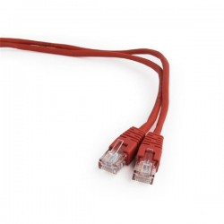 Gembird patch kábel CAT5e, UTP, 1.5 m, červený PP12-1.5M/R