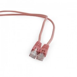 Gembird patch kábel CAT5e, UTP, 0.5 m, rúžový PP12-0.5M/RO