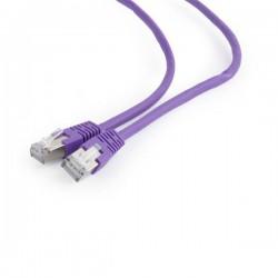 Gembird patch kábel Cat6 FTP, 0.5 m, fialový PP6-0.5M/V