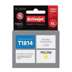 ActiveJet ink Eps T1814 Y new AE-1814N 15 ml EXPACJAEP0232