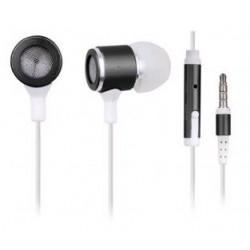 Sluchátka GEMBIRD MHS-EP-001 pro MP3, kovová s mikrofonem SLU052239