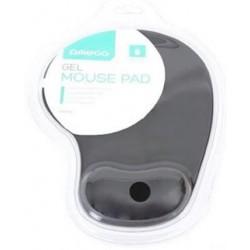 OMEGA gelová podložka pod myš černá OMPGB