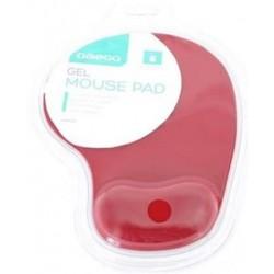 OMEGA gelová podložka pod myš červená OMPGR