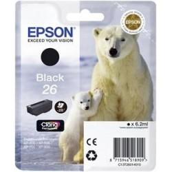 EPSON cartridge T2601 black (lední medvěd) C13T26014012