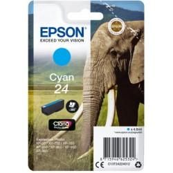 EPSON cartridge T2422 cyan (slon) C13T24224012
