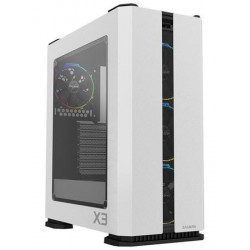 Zalman case X3 bílá , Skříň, Middle tower, bez zdroje, ATX, 2x USB...