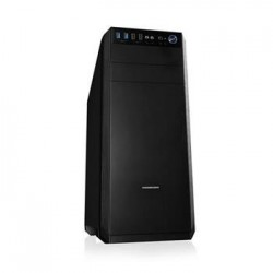 Modecom PC herná skrinka bez zdroja OBERON PRO LE BLACK MIDI, 2x USB 3.0, 2x USB 2.0 AT-OBERON-PR-10-000000-0002-LE