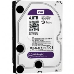 HDD WD Purple (PUR 4TB SATA 6Gb/s 64MB WD40PURX