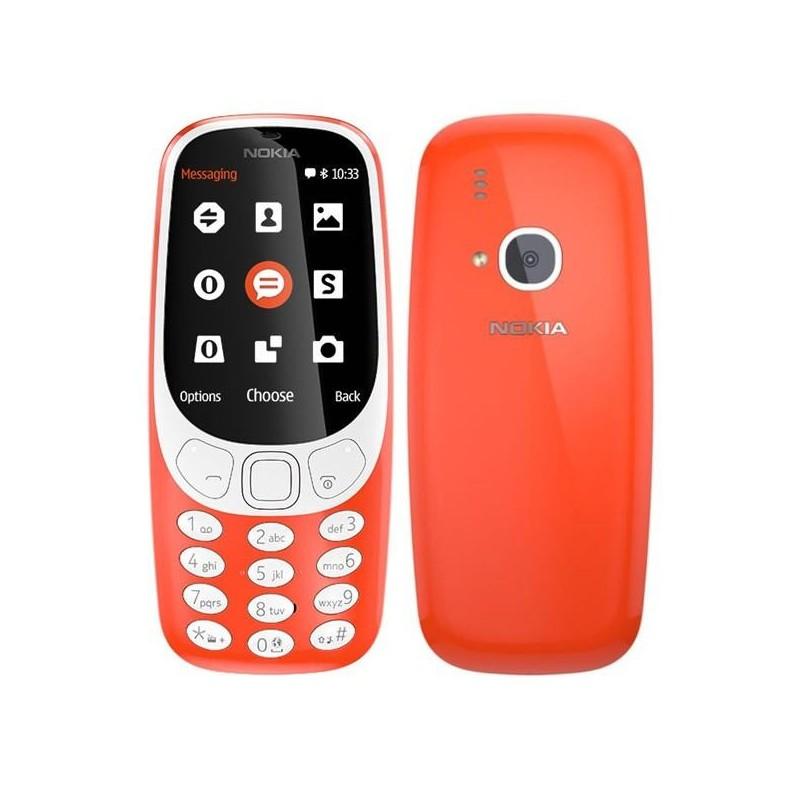 Nokia 3310 Single SIM, červená A00028219