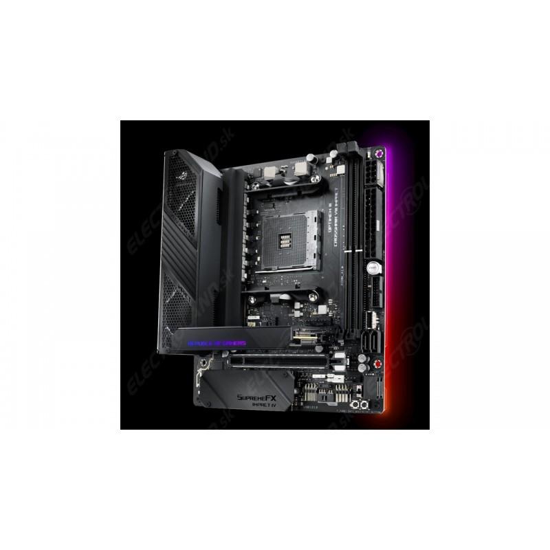 ASUS MB Sc AM4 ROG CROSSHAIR VIII IMPACT, AMD X570, 2xDDR4, VGA, Wi-Fi, mini-ITX 90MB11Q0-M0EAY0