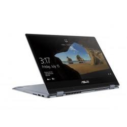"ASUS VivoBook Flip TP412FA-EC289T Intel i3-8145U 14.0"" FHD Touch UMA 8GB 512GB SSD WL Cam Win10 CS strieborno-modrý"