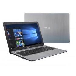 """ASUS X540BA-DM509T AMD- A6-9225 15.6"""" FHD matny UMA 4GB 1TB+128GB WL BT Cam Win10 strieborný"""