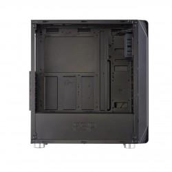 Fortron skříň Midi Tower CMT240 Black, průhledná bočnice POC0000029