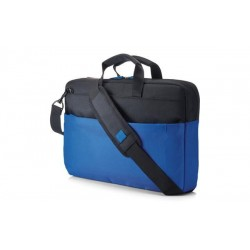 "HP 15.6"" Duotone BriefCase - Blue - BAG Y4T19AA#ABB//RETAIL"