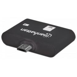 MANHATTAN imPORT SD, USB OTG čtečka karet, 24 v 1 406208
