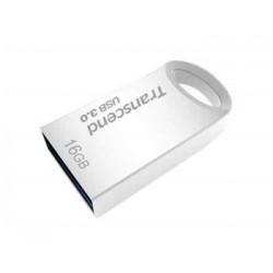 Transcend 16GB JetFlash 710S, USB 3.0 flash disk, malé rozměry, stříbrný kov TS16GJF710S