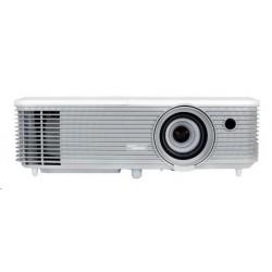 Optoma projektor W400 (DLP, WXGA, Full 3D, 4000 ANSI, 22 000:1,...