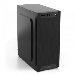 SilentiumPC skříň MidT Armis AR1 Pure Black / čtečka SD / 2x USB 3.0 / 1x 80mm fan / černá SPC173