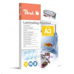 Peach Laminating Pouch A3 (303x426mm), 125mic 510437