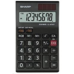 SHARP kalkulačka - EL-M700TWH - černá SH-ELM700TWH