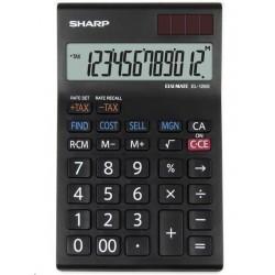 SHARP kalkulačka - EL128SWH - gift box SH-EL128SWH