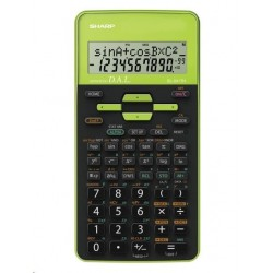 SHARP kalkulačka - EL531THBGR - zelená - blister SH-EL531THBGR