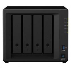 Synology DS418 DiskStation (4C/RealtekRTD1296/1,4GHz/2GBRAM/4xSATA/2xUSB3.0/2xGbE) DS418_sk
