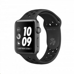 AppleWatch Nike Series 3 GPS, 42mm Space Grey Aluminium Case with...